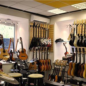 Музыкальные магазины Березового